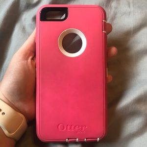 Pink otter box for iPhone 6 Plus